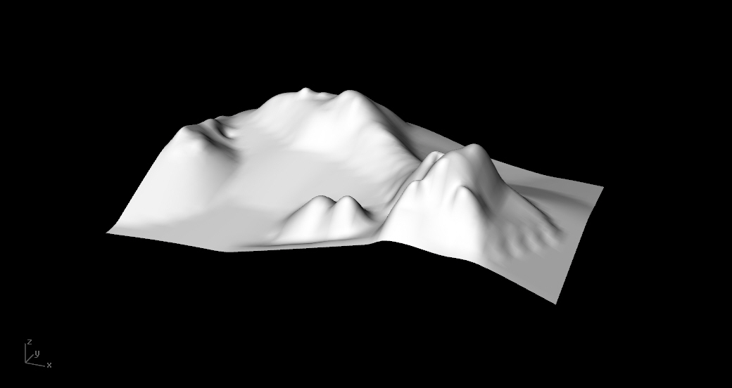 3D model for Case study 1